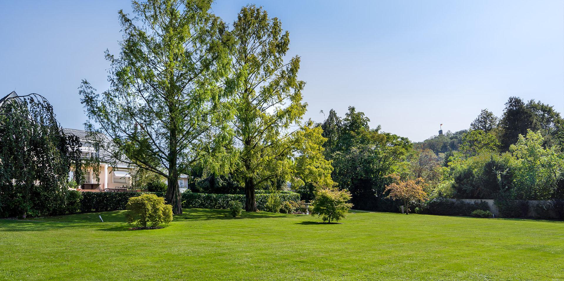 Herrschaftliches Anwesen, Luxusimmobilie, Burgblick - vermittelt durch Eberhard Horn Real Estate