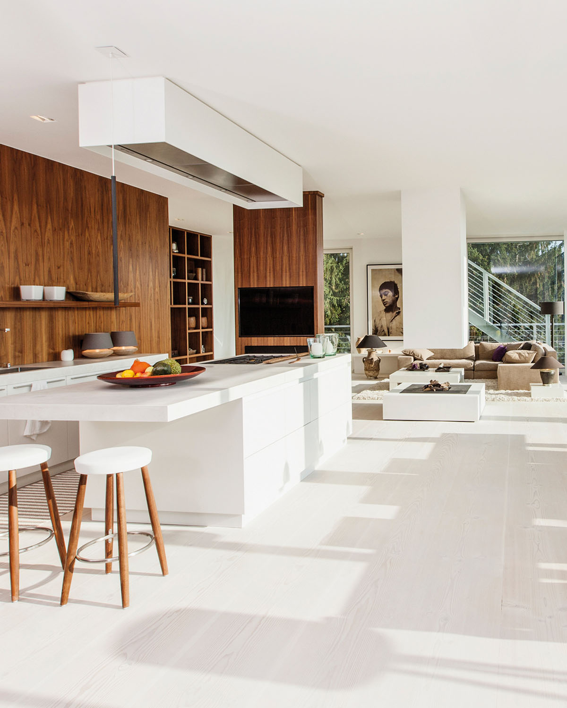 Luxus Penthouse modern - Architektur der Eberhard Horn Designgruppe