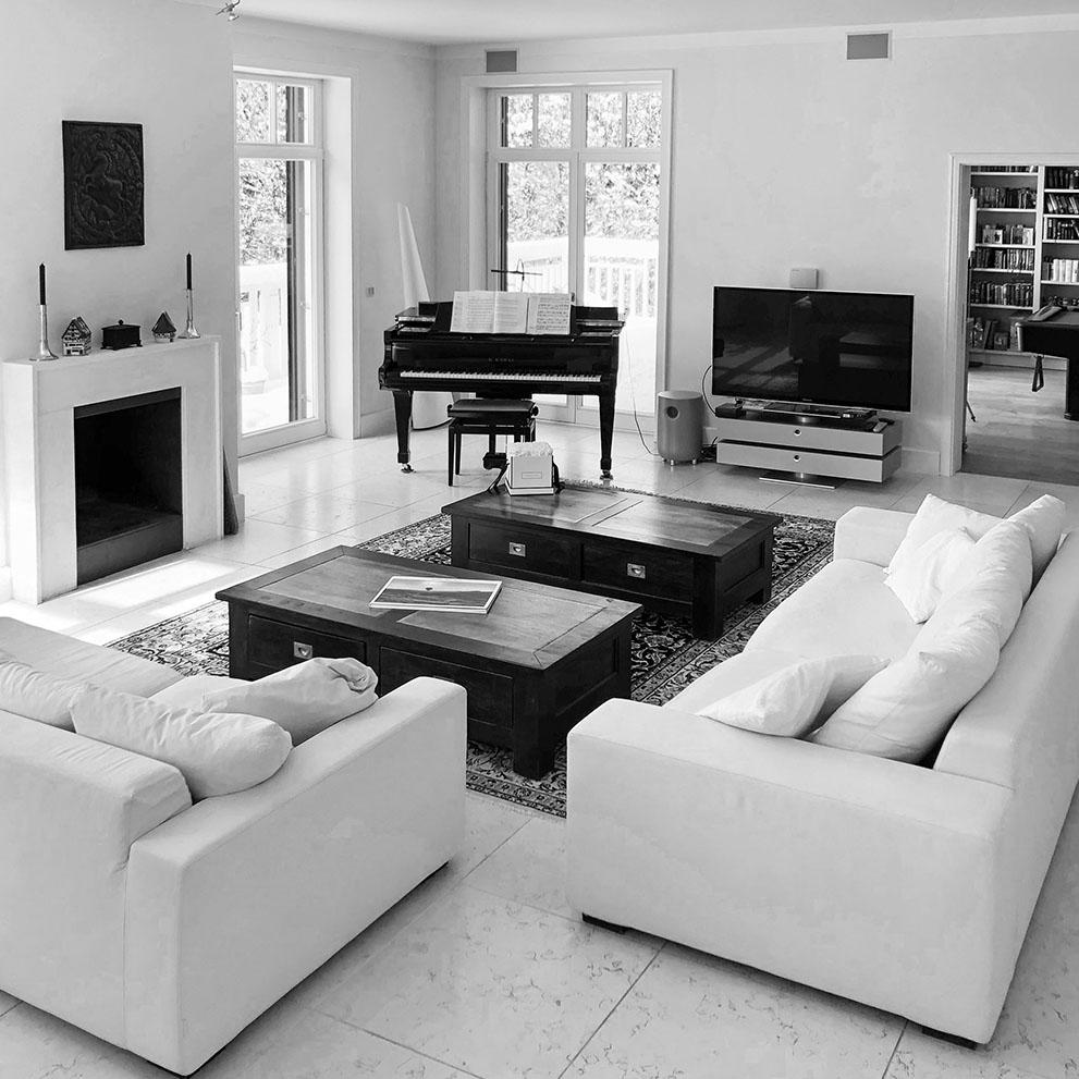 Innenraum Villa verkauft durch Eberhard Horn Real Estate